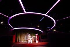 Dançarinos no clube nocturno Fotos de Stock Royalty Free