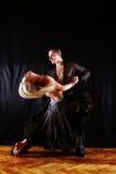 Dançarinos no salão de baile Imagem de Stock