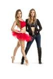 Dançarinos novos #1 BB136909 fotografia de stock
