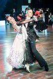 Dançarinos que dançam a dança padrão Foto de Stock