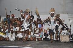 Dançarinos tradicionais Imagens de Stock Royalty Free