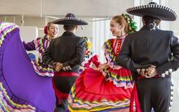 Dançarinos tradicionais Foto de Stock