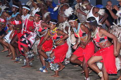 Dançarinos tradicionais Imagens de Stock