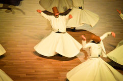 Dançarinos turcos Fotos de Stock Royalty Free