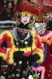 Dançarinos vestidos Imagens de Stock