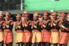 Danças de Aceh fotos de stock royalty free