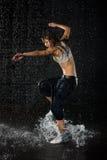 Danças modernas. Imagens de Stock