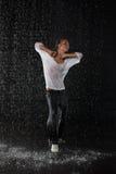 Danças modernas. Fotos de Stock