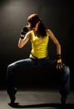 Danças modernas Imagens de Stock Royalty Free