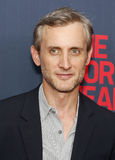 "Dan Abrams. TV personality and legal expert Dan Abrams arrives on the red carpet for the New York premiere of ""The Normal Heart, "" at the Ziegfeld Theatre in Royalty Free Stock Images"
