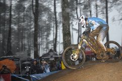 Dan Atherton. Daniel Simon Atherton, known as Dan Atherton  is a professional racing cyclist from UK, specialising in downhill , four cross and enduro-downhill Stock Images