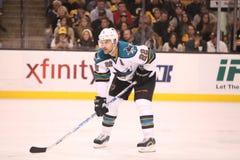 Dan Boyle San Jose Sharks Στοκ φωτογραφία με δικαίωμα ελεύθερης χρήσης