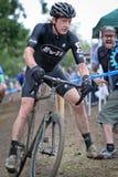 Dan Cheever - corredor de Cyclocross Imagen de archivo
