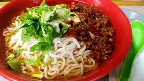 Dan dan noodles Royalty Free Stock Photo