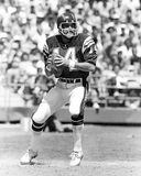 Dan Fouts. San Diego Chargers QB Dan Fouts. (Image taken from B&W slide royalty free stock photography