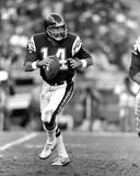 Dan Fouts. San Diego Chargers QB Dan Fouts. (Image taken from B&W slide stock photography