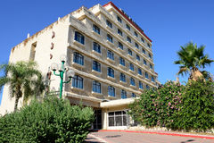 Dan Gardens Hotel. ASHKELON, ISRAEL- OCTOBER 04, 2014: The Dan Gardens Hotel, Ashkelon, blends a scenic Mediterranean location with a country club atmosphere.The Royalty Free Stock Images