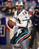 Dan Marino Miami Dolphins. Miami Dolphins hall of fame QB Dan Marino. (image taken from color slide stock photography