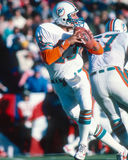 Dan Marino Miami Dolphins. Miami Dolphins hall of fame QB Dan Marino. (image taken from color slide stock photo