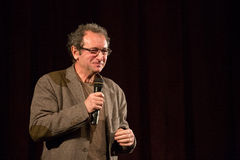 Dan Puric που δίνει μια ομιλία στοκ φωτογραφία με δικαίωμα ελεύθερης χρήσης