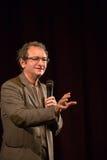 Dan Puric che dà un discorso Fotografia Stock Libera da Diritti