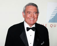Dan Rather. News anchorman Dan Rather attends The Quill Awards gather in New York City on October 22, 2007 stock images