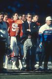 Dan Reeves Denver Broncos lizenzfreie stockfotos