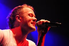 Dan Reynolds Stock Photo