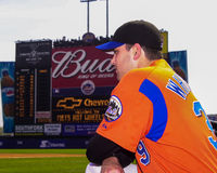 Dan Wheeler, New York Mets. Royalty Free Stock Photo