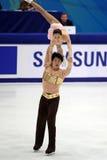 Dan Zhang e Hao Zhang (CHN) Immagini Stock
