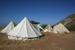 dana στρατόπεδων Στοκ φωτογραφία με δικαίωμα ελεύθερης χρήσης