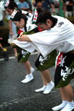 Dança /Awa Odori de Awa Imagem de Stock Royalty Free
