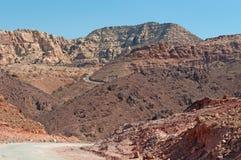 Dana biosfery rezerwa, Jordania, Środkowy Wschód Obrazy Royalty Free