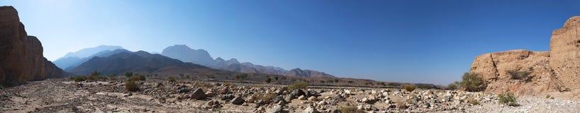 Dana Biosphere Reserve, Giordania, Medio Oriente Immagine Stock Libera da Diritti