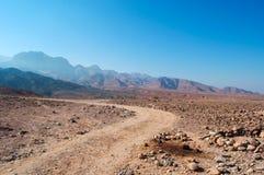 Dana Biosphere Reserve, Jordânia, Médio Oriente Foto de Stock Royalty Free