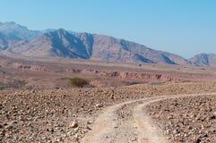 Dana Biosphere Reserve, Jordanië, Midden-Oosten Stock Afbeeldingen