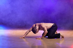 Dança contemporânea Fotos de Stock Royalty Free