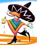 Dança do Tequila Fotografia de Stock