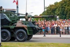 Dana 152 gun howitzer Stock Photography
