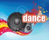 Dança no insecto azul Imagem de Stock