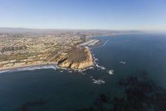 Dana Point California Aerial Lizenzfreie Stockfotos