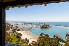 Dana Point, California. United States of America, Skyline royalty free stock photo