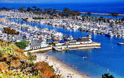 Dana Point, California. This is a picture taken at Dana Point in California stock photography