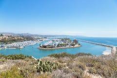 Dana Point, California. United States of America, Skyline stock images