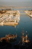 Dana Point Harbor Arkivbild
