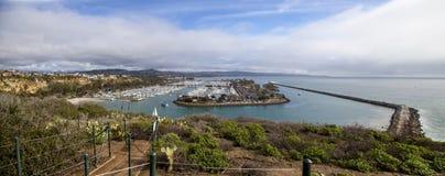 Dana Point Harbor du chemin de hausse photographie stock libre de droits