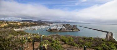 Dana Point Harbor du chemin de hausse Photos libres de droits