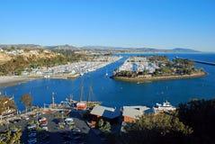 Dana Point Harbor sydliga Kalifornien royaltyfri foto