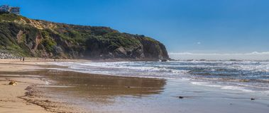 Dana Point Headland Panorama royalty-vrije stock afbeeldingen