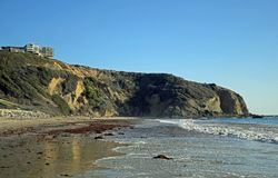 Dana Point Headland, Zuidelijk Californië Royalty-vrije Stock Fotografie